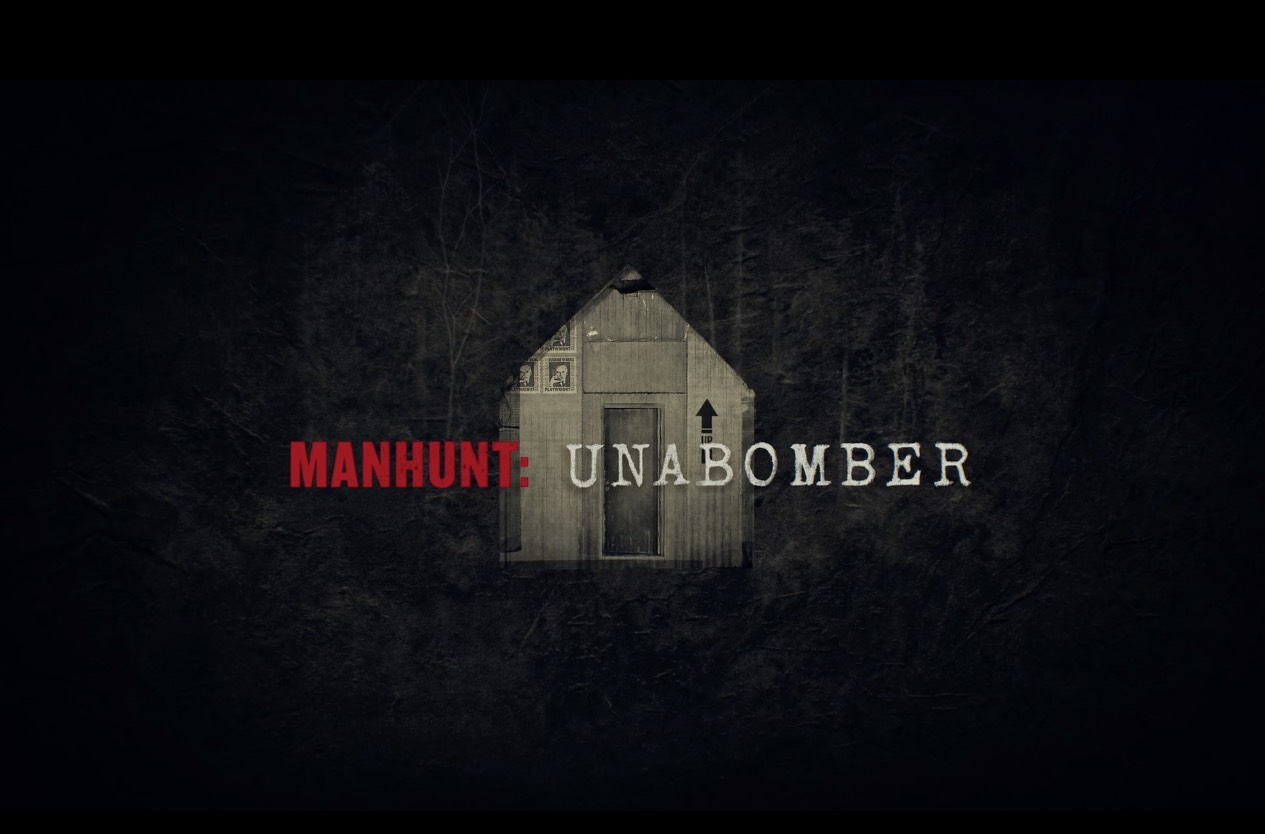 Manhunt: Unabomber logo from Tv series